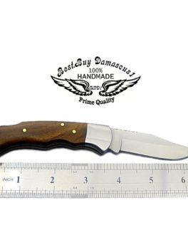 """Folding Knife Rose Wood 6.5"""""""