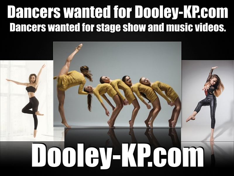 Dancers wanted for music videos and stage show.