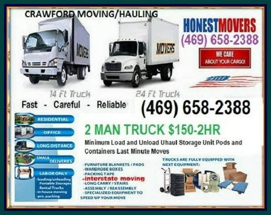 Need a move this week, Call us today !