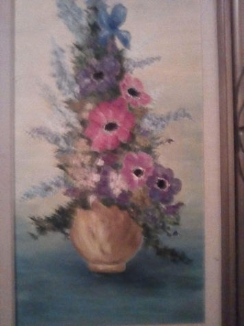 "Oil painting by Gunnel, 17 3/4"" x 29 5/8"""