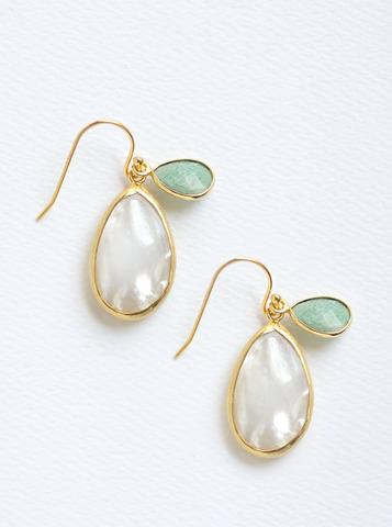 Buy Online Sterling Silver Gemstone Earrings for Women