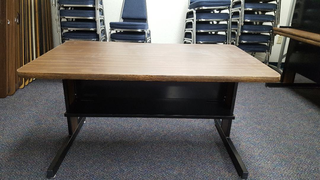 "48""x30""x26"" tall desk/craft table used"