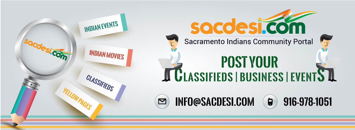 Upcoming Indian Events in Sacramento