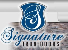 Ornamental Unique Iron Garage Doors