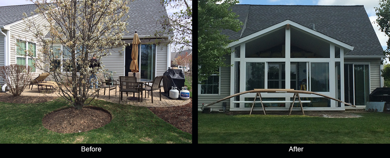 Remodeling of 3 season Sunrooms in Chicago