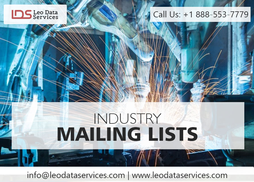 industry Mailing Lists | Industry Specific Email List | Leo Data Services