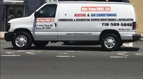Rite Temp, HVAC,LLC  718-509- 5848 email at info@ritetempnyc.com (Se Habla Español)
