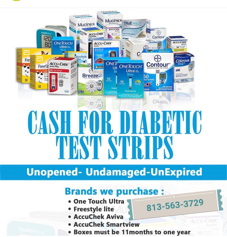 DiabetesTS.com - WE PAY CASH MONEY FOR DIABETIC TEST STRIPS