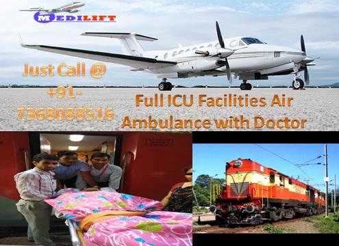 Life-Saving Air Ambulance Service in Allahabad at Low Fare