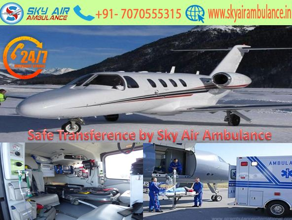 Avail Secure Shifting to the Patient with Physician in Bokaro by Sky Air Ambulance