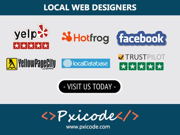 $80 AFFORDABLE WEB DESIGN & WEB SERVICE - LOCAL WEB DESIGNER - PXICODE