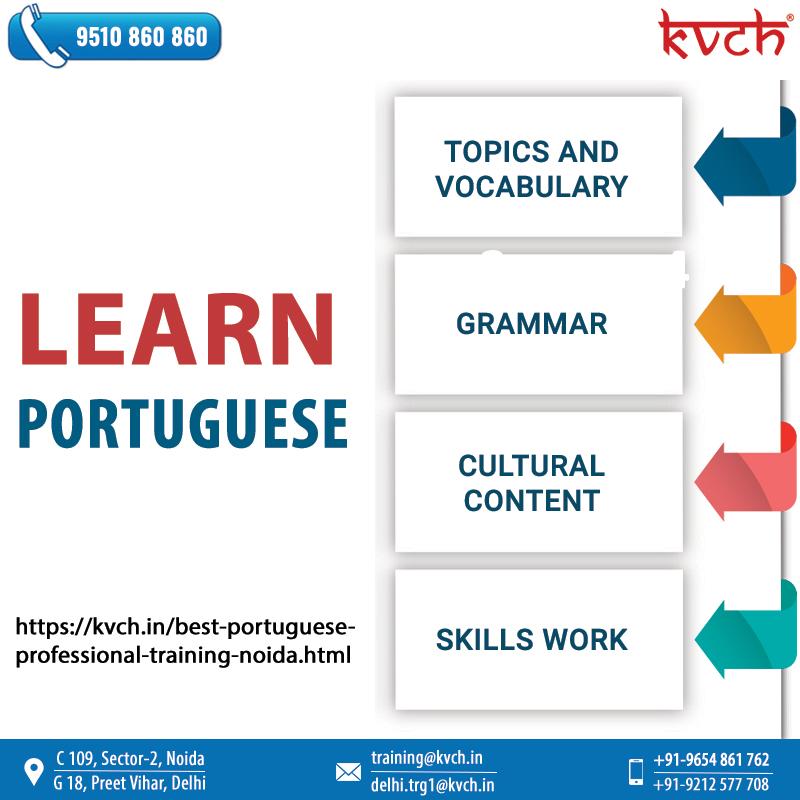 Best Portuguese Language Online Training & Course - KVCH Academy