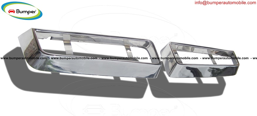 Maserati Bora Grille part (1971-1978) in stainless steel