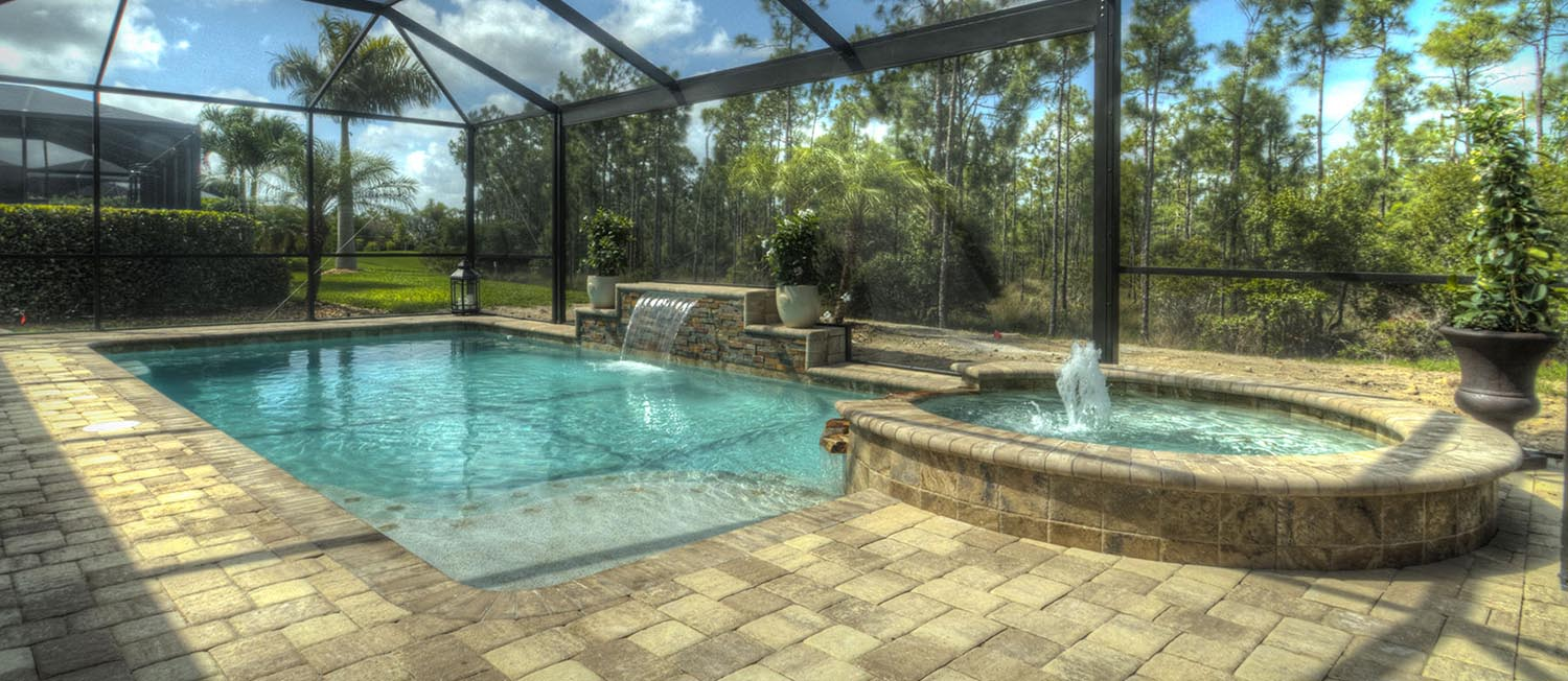 Experienced Pool Builder Company Fort Myers Contemporary Pools