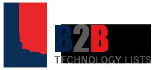 Top Technology lists- Technology Site Count- B2B Technology Lists