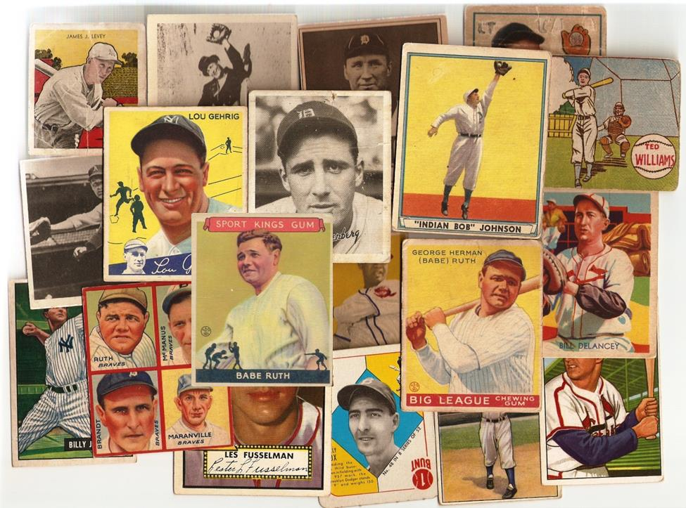 BUYING!! TOP DOLLAR PAID – Baseball, Football, Basketball, and Hockey Cards Pre – 1975