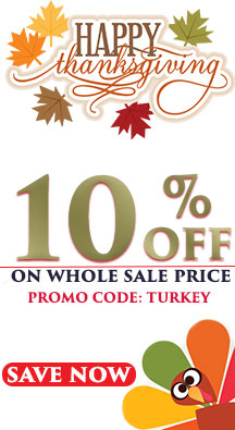 Thanks Giving Sale on Wholesale Blades