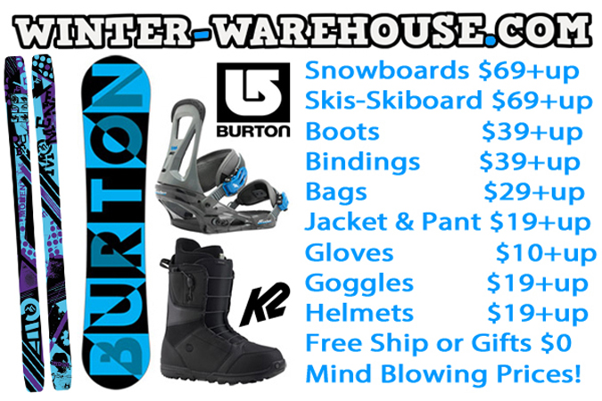 Winter Sale Snowboards Skis Bindings Boots Gear CHEAP MEGA SALE