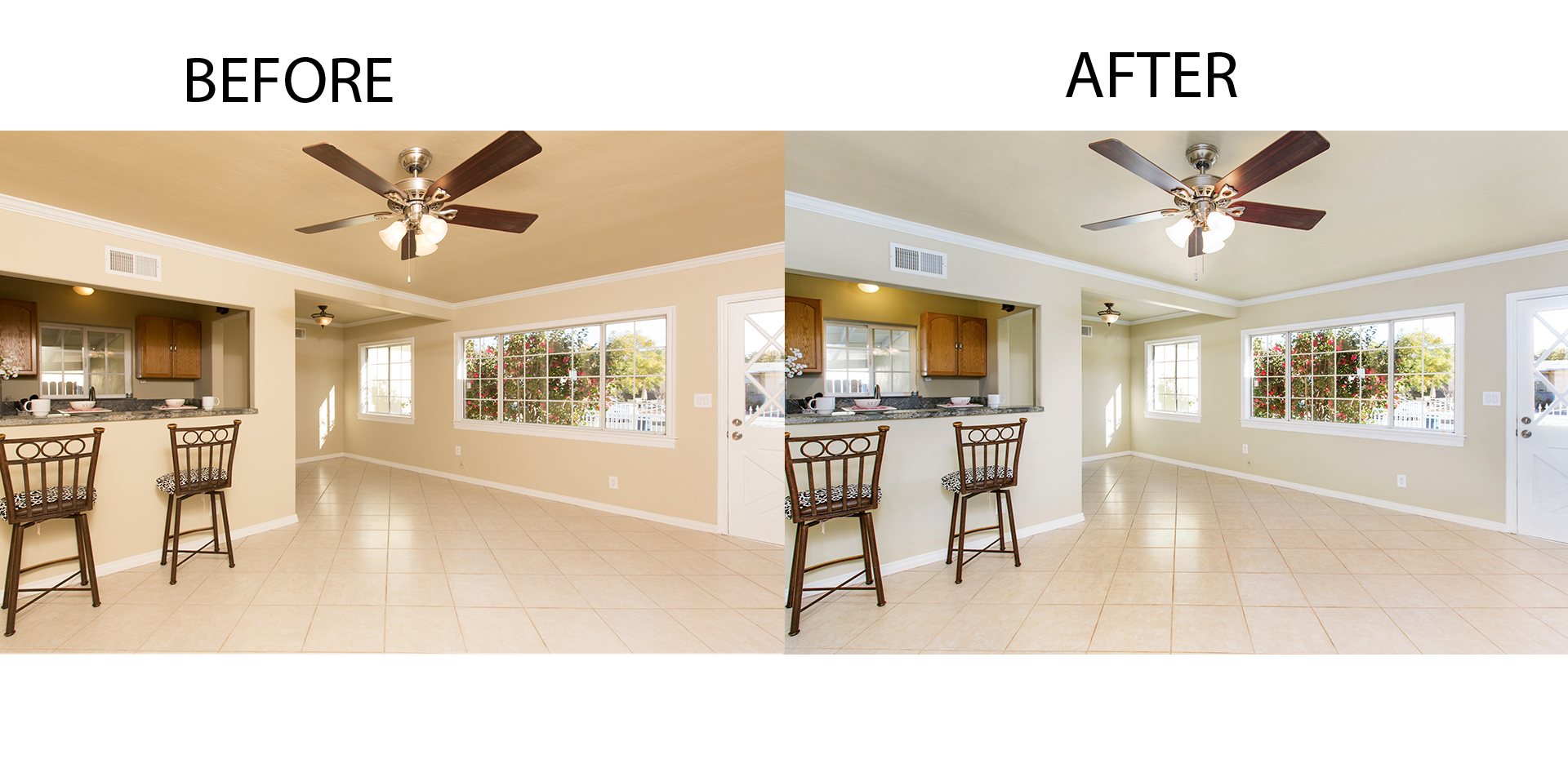 Post Processing of Real Estate Images