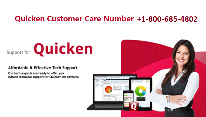 Get The Best Quicken Technical Support Number In USA and Canada