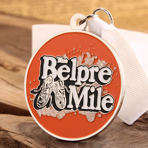 The Belpre Mile Running Medals