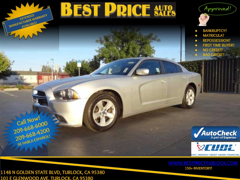2012 Dodge Charger SE Turlock