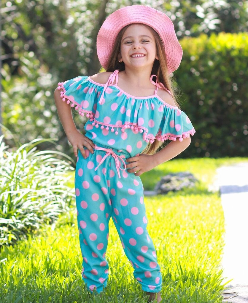 Trendy and Cute Jumpsuits for Girls at Mia Belle Baby