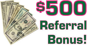 $500.00 Referral Fee - $500 (Minneapolis)