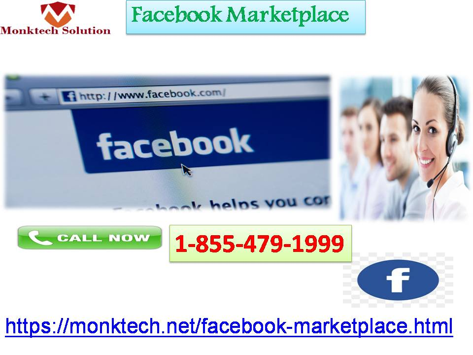 Acquire Aid from World Class Geeks at Facebook Marketplace 1-855-479-1999
