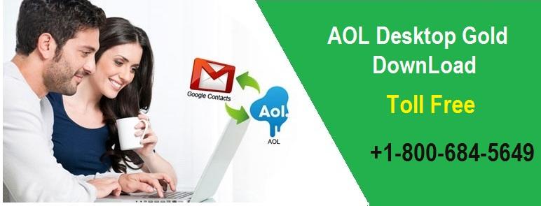 AOL Desktop Gold DownLoad Support +1-800-684-5649
