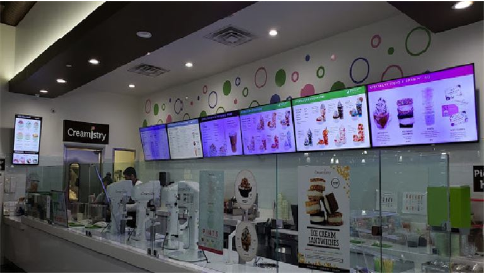 Top of the line Ice cream Franchise shop for sale
