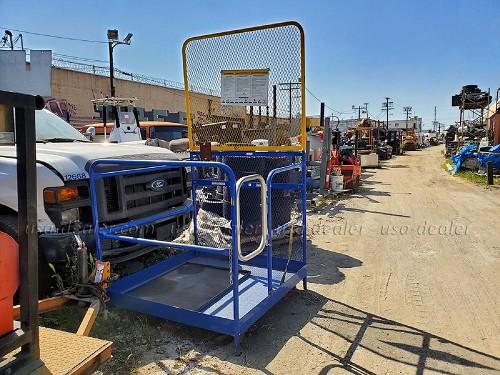 VESTIL WP-4848-84B STEEL WORK PLATFORM