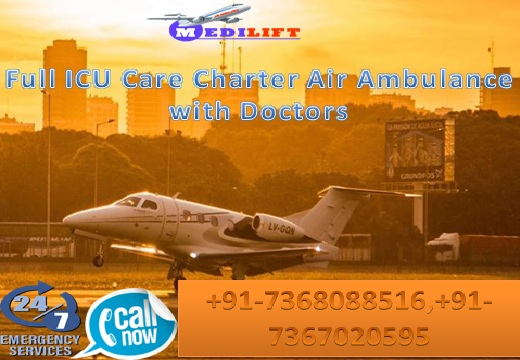 Fastest and Safest Air Ambulance Service in Kolkata with Doctor