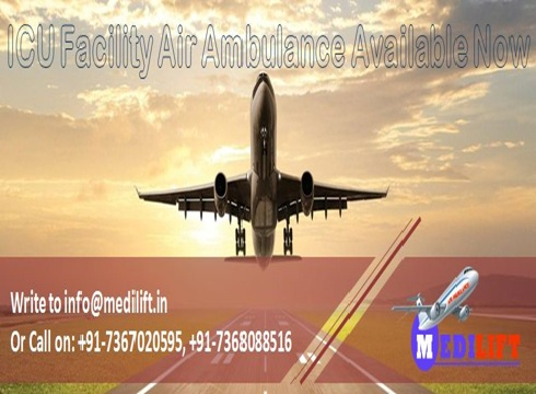 Hi-Tech and Emergency Air Ambulance Services in Guwahati