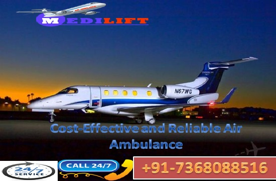 Take Minimum Low Fare Air Ambulance Service in Kolkata
