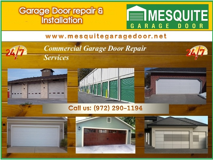 24/7 Emergency Garage Door Repair & New Installation Service | Mesquite, Dallas 75150 TX