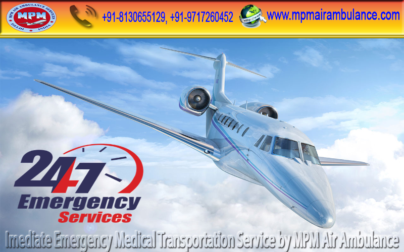 Book ICU, CCU facilities by MPM Air Ambulance Services in Guwahati at Genuine Rate