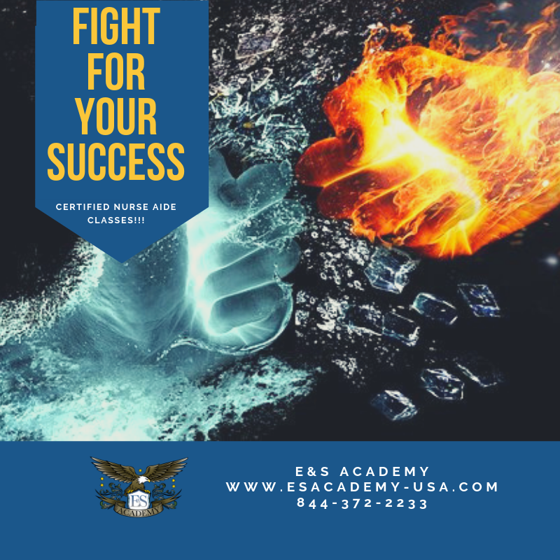 Fight for Your Success – Certified Nurse Aide Classes