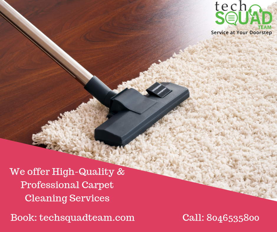 Benefits of Carpet cleaning service in Bangalore