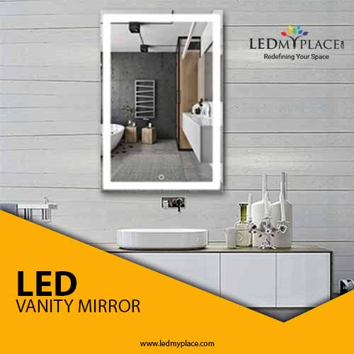 Enhance the Look of your bathroom with stunning LED Bathroom Lighted Mirror