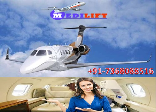 Take Superior and Comfy Air Ambulance Service in Patna