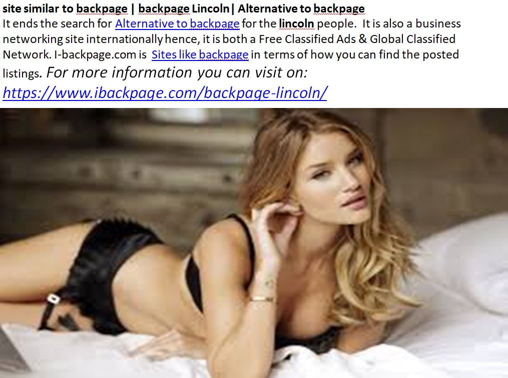 site similar to backpage | backpage Lincoln| Alternative to backpage