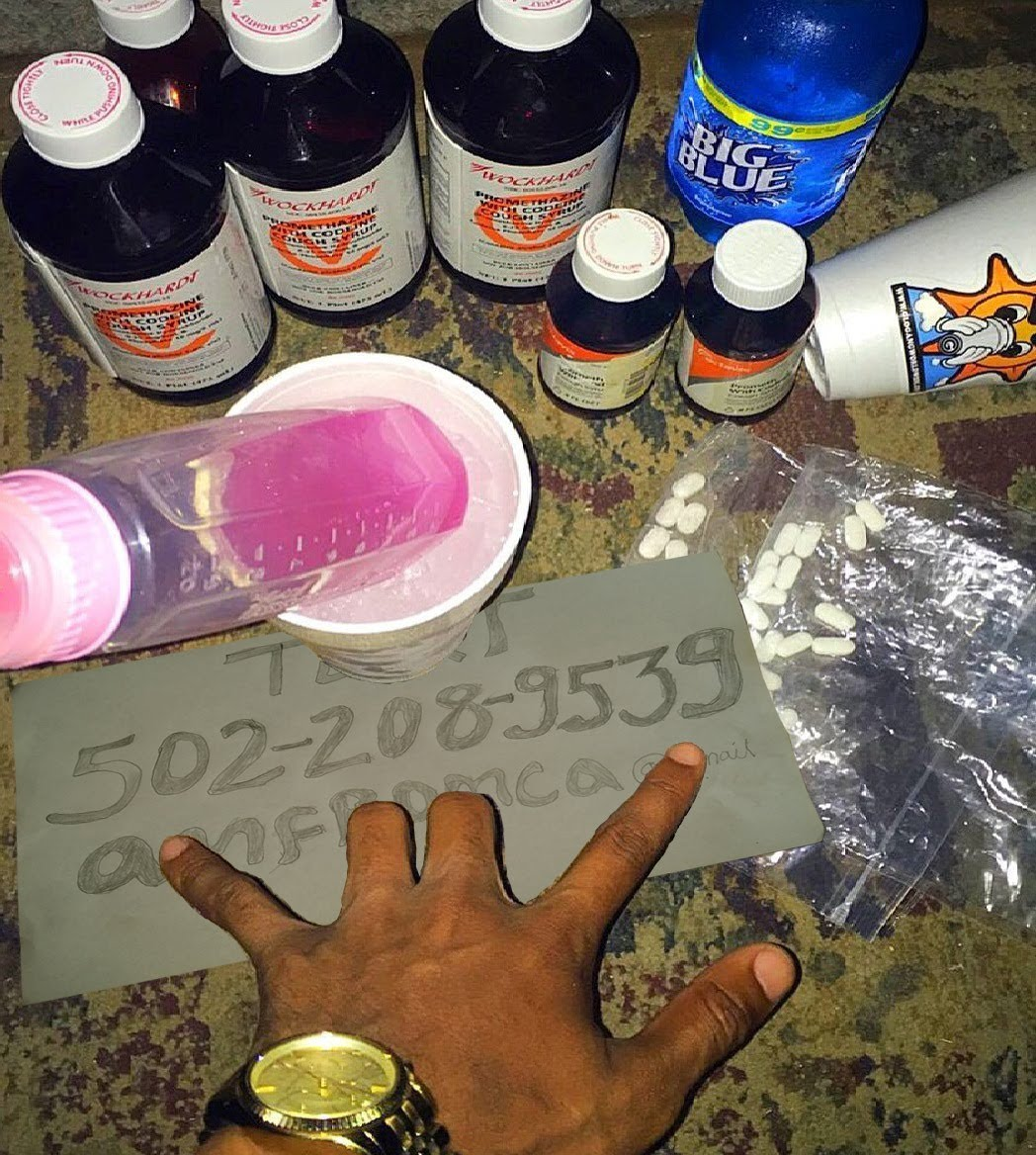 Wock n Hitech cough syrup..