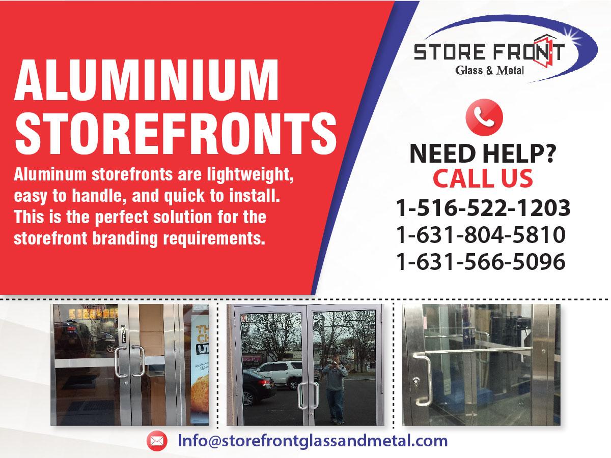 Aluminum Doors  | Aluminum Storefront Door & windows