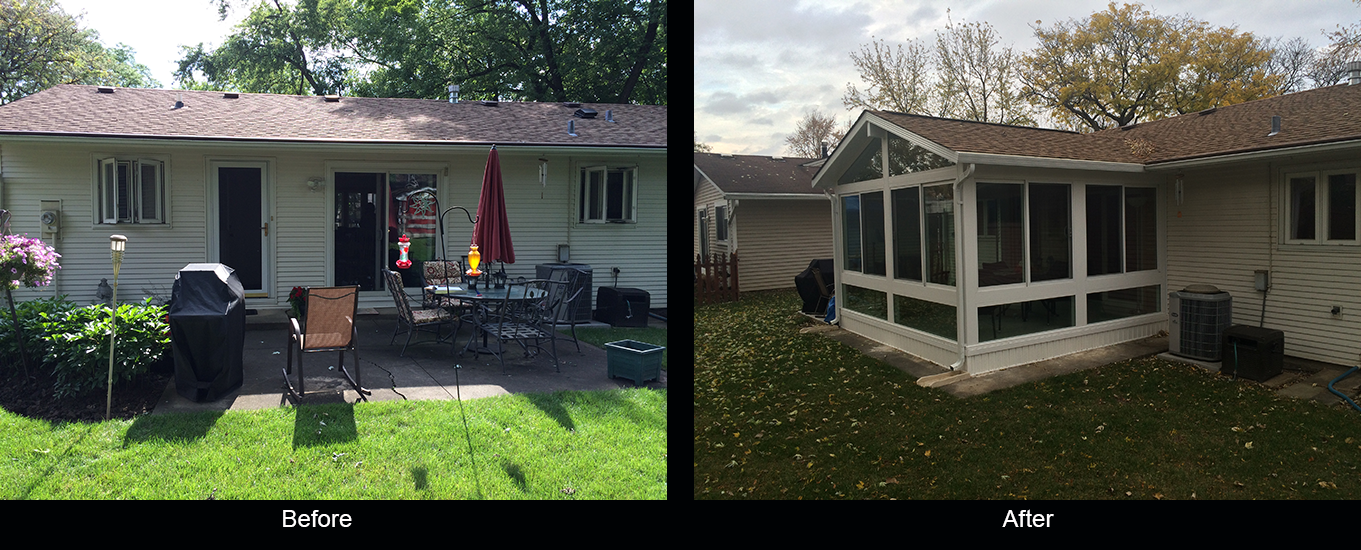 Remodeling of seasons Sunrooms in Chicago
