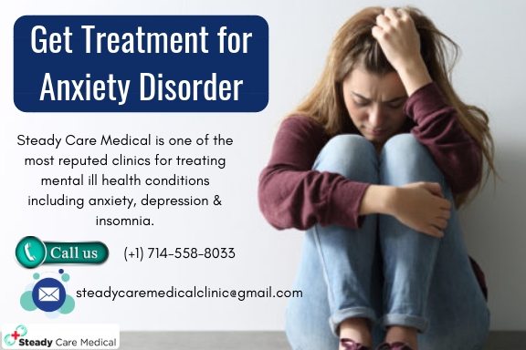 Why Should You Opt for Treatment For Anxiety Disorder?