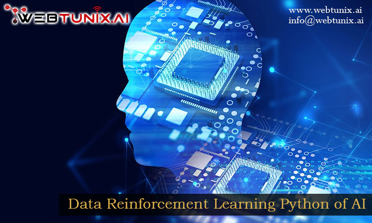 Data Reinforcement Learning Python of AI