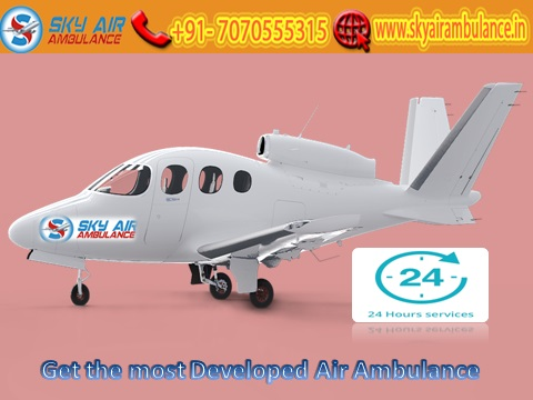 Avail the Top-Class Air Ambulance Service in Varanasi