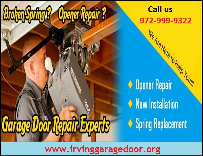 Commercial Garage Door Spring Repair Starting $25.95 – Irving, 75071, TX