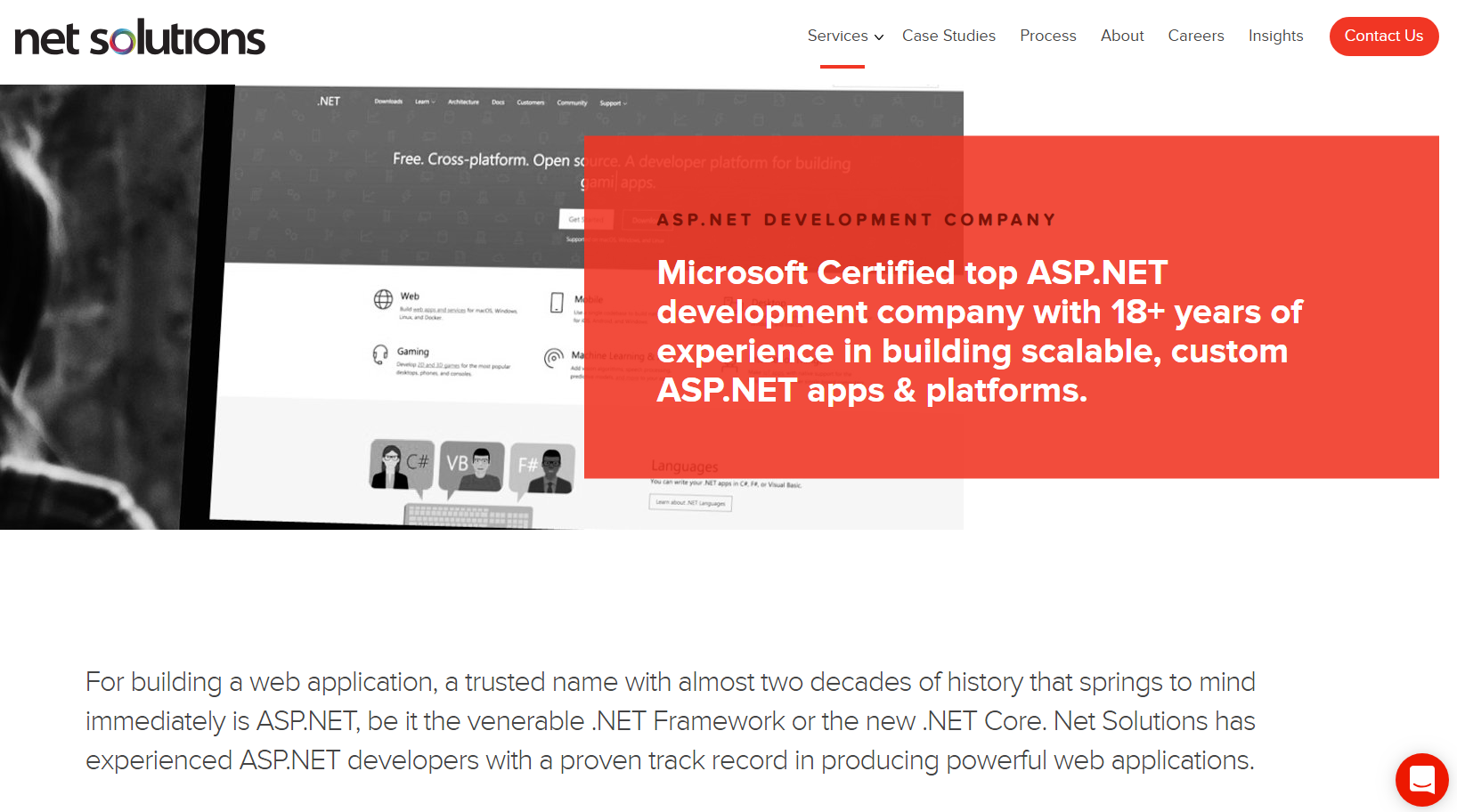 Top asp net development company